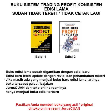 Sistem Trading Profit Konsisten Desmond Wira buku saham SLKI SDKI SIKI | Lazada Indonesia